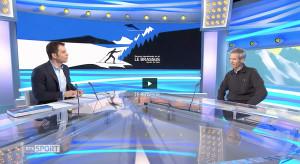 TSR2_Entretien avec Jacques Piguet, auteur du livre «Epreuves internationales de ski le Brassus»